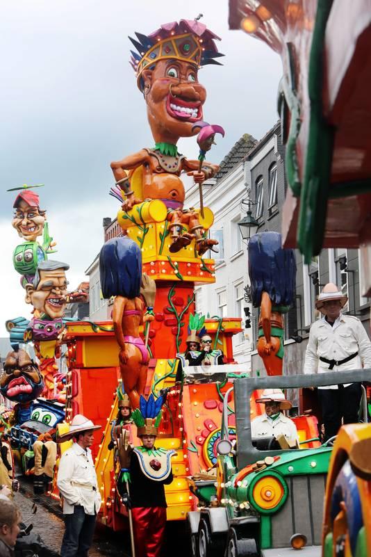 De carnavalsoptocht zal volgend jaar niet meer de Haagdijk passeren.
