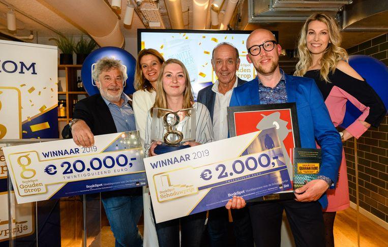 De winnaars Beeld -
