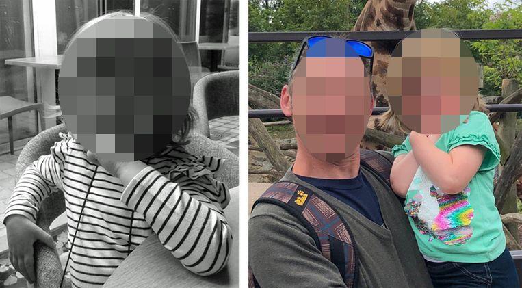 Vader en dochter werden levend en wel aangetroffen.