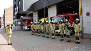 Brandweer Gistel houdt minuut stilte voor overleden collega's, gevolgd door pakkende Last Post