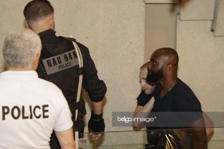 De rappers werden veroordeeld tot 18 maanden cel.