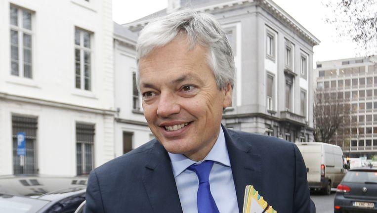 Minister van Buitenlandse Zaken Didier Reynders.