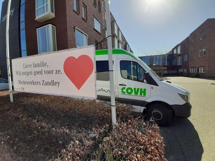 Twee bewoners van Zandley in Drunen zijn ook besmet met het coronavirus.