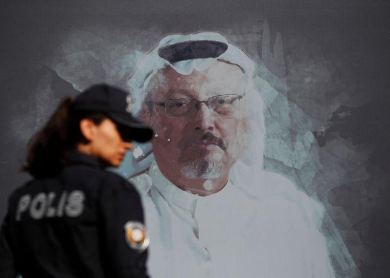 Khashoggi, die in de VS woonde, was een uitgesproken criticus van de Saoedische kroonprins. Beeld AP