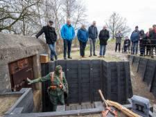 Oorlogsbunkers van Veenendaal weer te bezoeken: vrees voor bijtgraag paard niet nodig