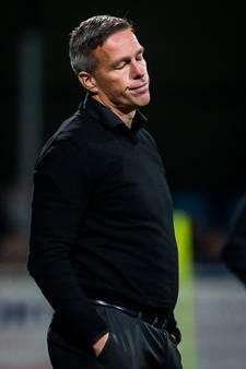 De Nooijer ontslagen als hoofdtrainer van FC Dordrecht