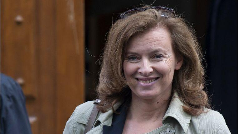 Valerie Trierweiler, de nieuwe first lady van Frankrijk Beeld photo_news