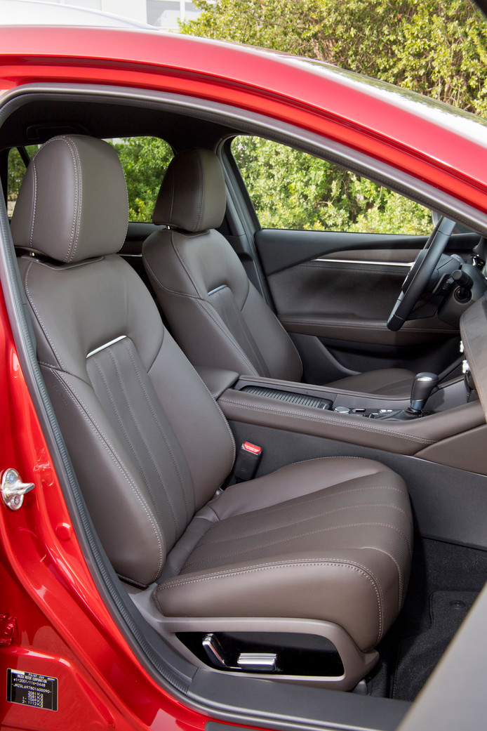 Mazda Steekt Met Vernieuwde Mazda 6 Duitsers Naar De Kroon Auto