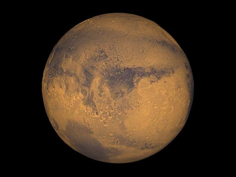 Mars. Beeld NASA/Greg Shirah
