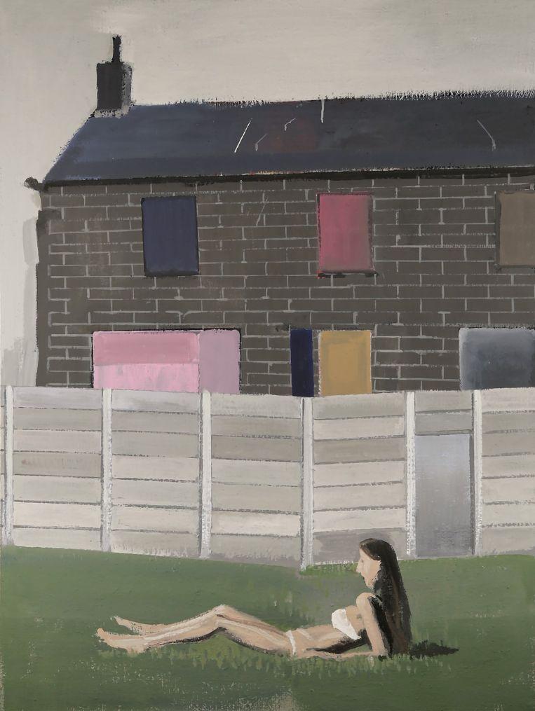 De afbeeldingen zijn stills uit de expositie 'L'histoire kaputt' van Alex van Warmerdam, nu te zien in het Amsterdamse filmmuseum Eye. Beeld Alex van Warmerdam