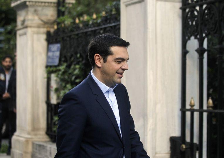 Alexis Tsipras. Beeld epa