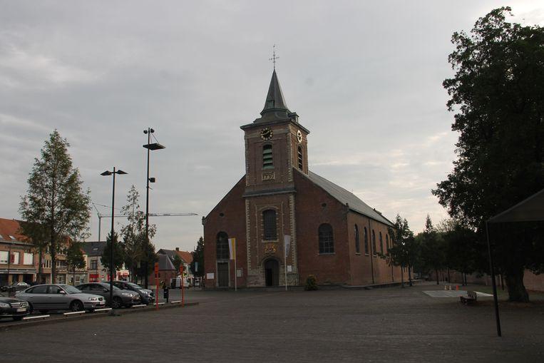 De Sint-Amanduskerk in Ingelmunster.