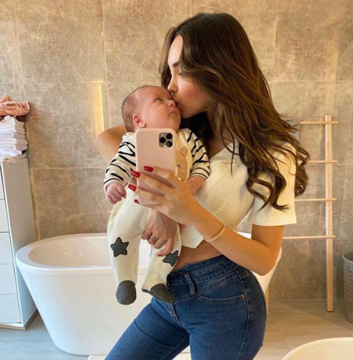 Nabilla a donné naissance à son premier enfant en octobre.