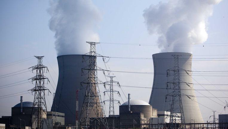 De Belgische kerncentrale Doel 4, waar zich mogelijk sabotage heeft voorgedaan. Beeld ANP XTRA