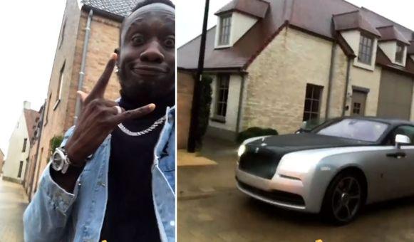 Mbaye Diagne heeft zijn Rolls Royce terug.