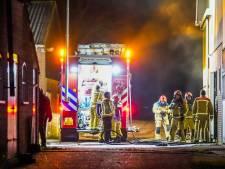 Brand in koeienstal Oirschot, vuur snel onder controle