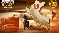 Dakar 2019 voorgesteld: parcours wordt volledig in Peru afgewerkt, ook tweede kans voor vroege opgevers