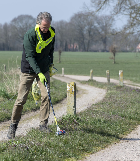 Gemeente Berkelland steunt actie opruimen zwerfafval