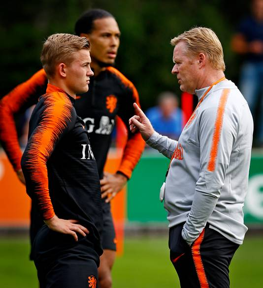 Matthijs de Ligt en Virgil van Dijk.