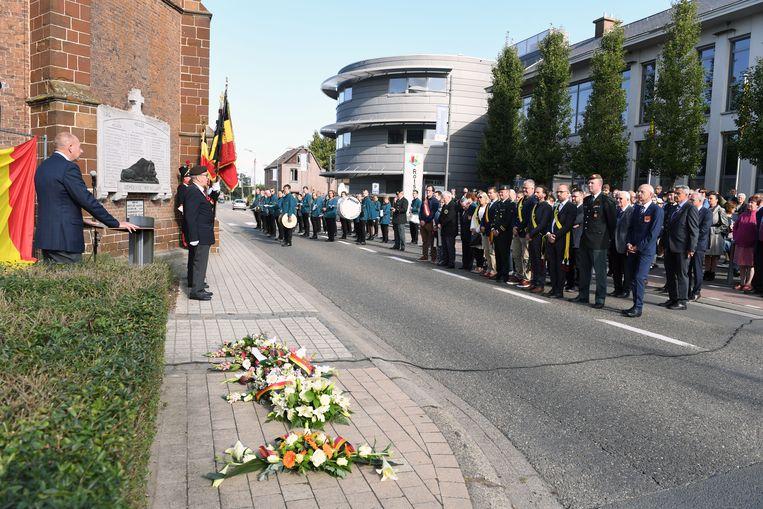 De 'Slag aan de Molen', waar 325 soldaten het leven lieten in 1914, werd zondag herdacht.