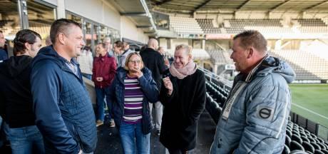Stoppers genieten van het aller-allerlaatste trekje aan de sigaret in Almelo
