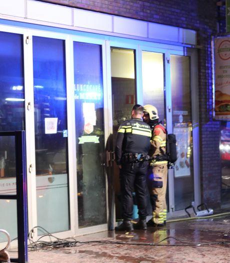 Schade door brand in café in Ede