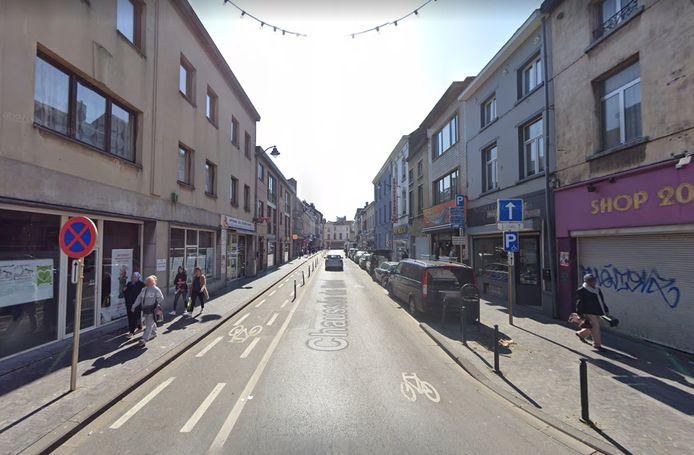 La chaussée de Gand à Molenbeek.