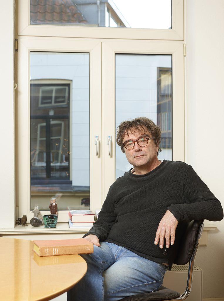 Bert Wagendorp. Beeld Henk Wildschut