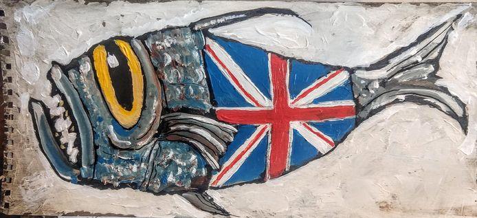 Brexitvis van Wim Hofman