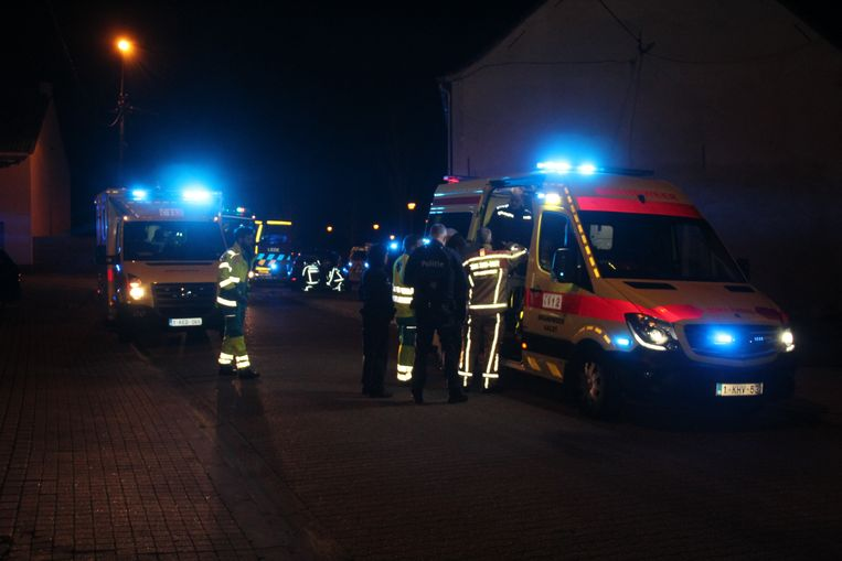 De slachtoffers werden met drie verschillende ziekenhuizen naar de Aalsterse ziekenhuizen gevoerd.