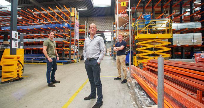 De directie van Begra in Oss: vlnr Jorg Zwaans (algemeen directeur), Mathijs Strik (technisch directeur) en Marco van Hoek (financieel directeur).