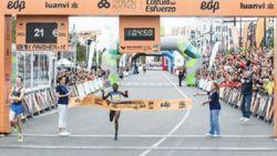 Keniaanse Jepkosgei stelt eigen wereldrecord scherper op halve marathon