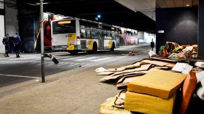 Er stoppen weer bussen van De Lijn onder Brussel-Noord