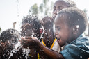Waterproject in Ethiopië.