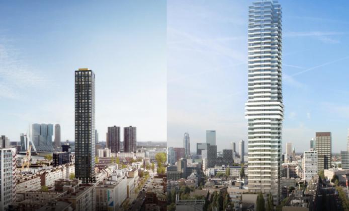 De Cool Tower (links) en de Baan Tower.