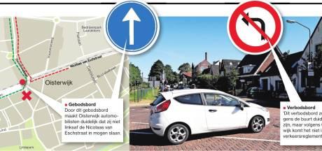 Automobilist ziet gebod niet als verbod: bonnenregen in Oisterwijk