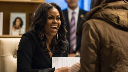 Boek 'Becoming' van Michelle Obama breekt records