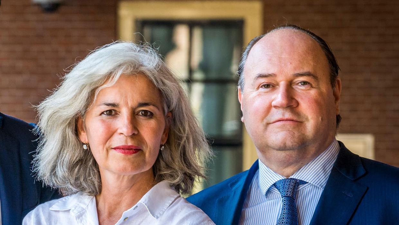 Dorien Rookmaker (l) en Henk Otten