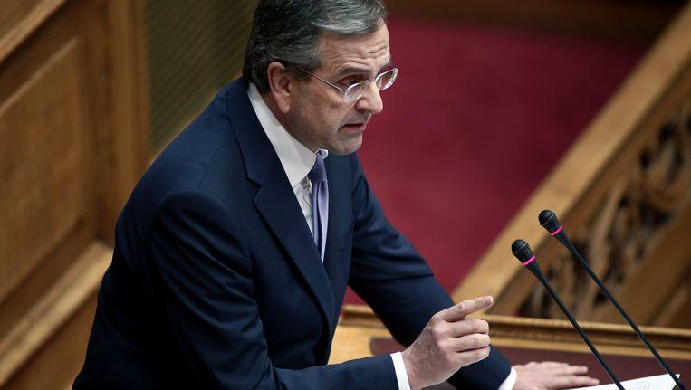 Premier Antonis Samaras.