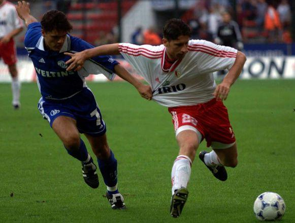 Michael Goossens speelde met Schalke in 1999 tegen zijn exclub Standard.