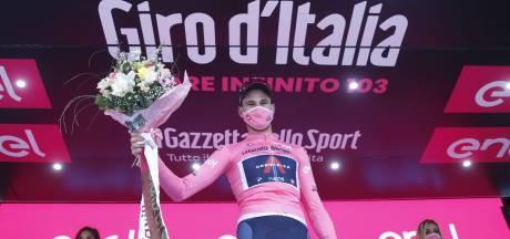 Filippo Ganna, premier maillot rose du Tour d'Italie