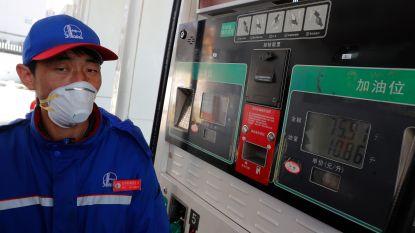 Olieprijzen zakken verder door coronavirus