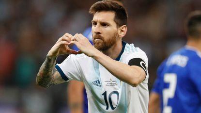 Messi pakt uit met mooi gebaar en deelt gratis maaltijden uit aan daklozen in thuisstad Rosario