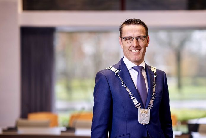 Burgemeester Frank van der Meijden van Laarbeek.