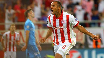 Vadis Odjidja scoort en ziet hoe Olympiakos in blessuretijd de maat neemt van Rijeka (2-1)