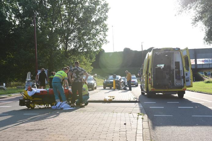 Bij ongeval in Nieuwegein raakten twee mannen gewond.