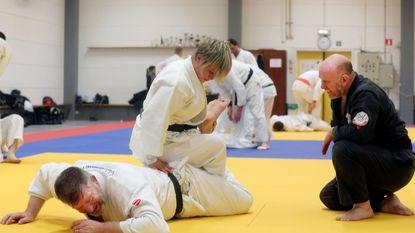 Harry Van Barneveld traint jiu jitsuka's