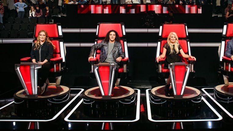 Jury van The Voice Beeld anp