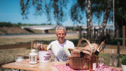 """Lummen picknickt deze zomer samen langs het Albertkanaal, in de eigen bubbel: """"Aparte maar gezellige picknickzones"""""""
