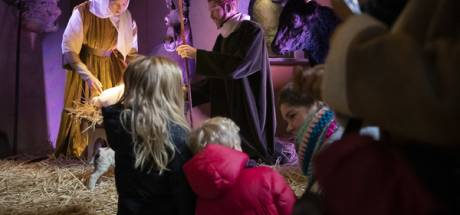 De kerststal in de Sint-Jan in Den Bosch is ook dit jaar weer indrukwekkend